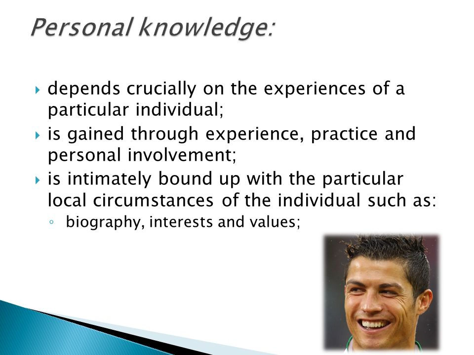online personals knowledge