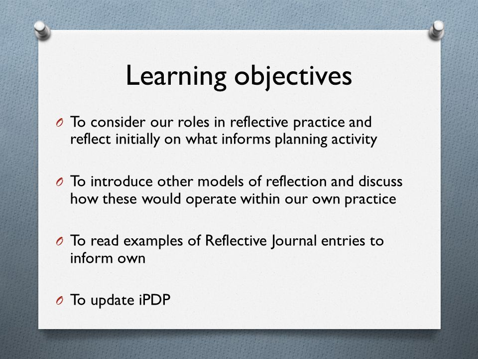 reflective journal reading This study assessed the benefits of keeping reflective journal writing on improving english writing skills, increasing motivation, enhancing creativity, and critical.