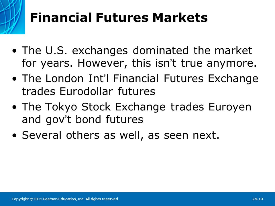 Table 24.1 Widely Traded Financial Futures Contracts