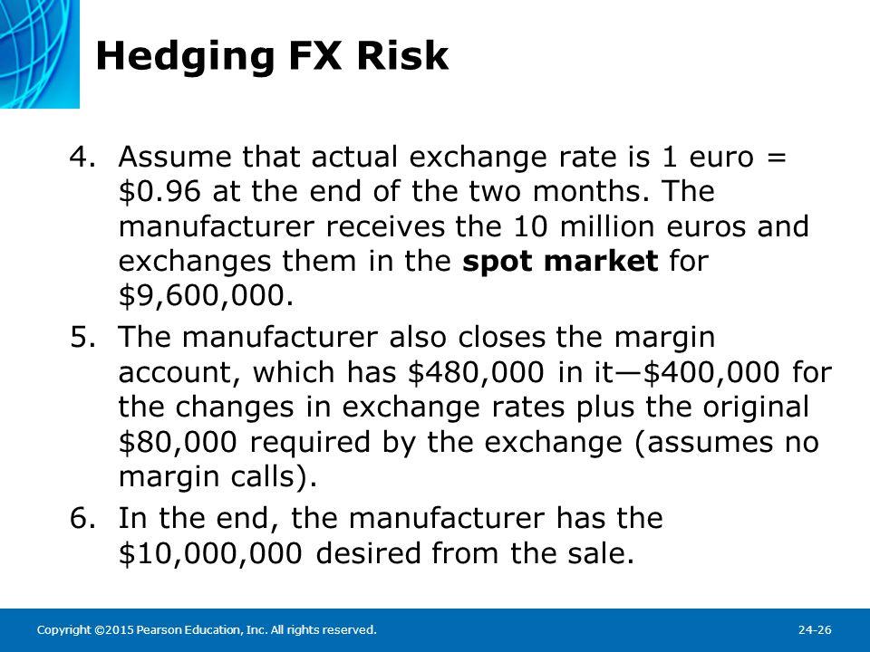 Hedging FX Risk
