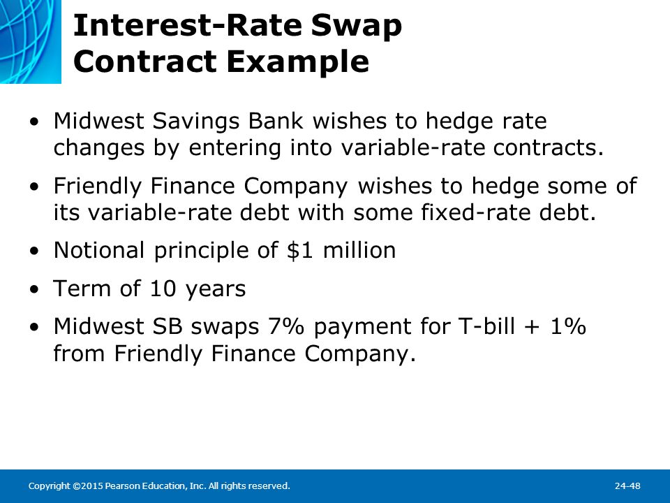 Interest-Rate Swap Contract Example