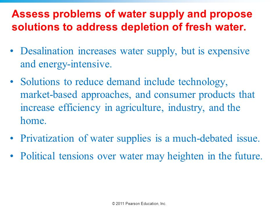 Water Privatization Pros and Cons