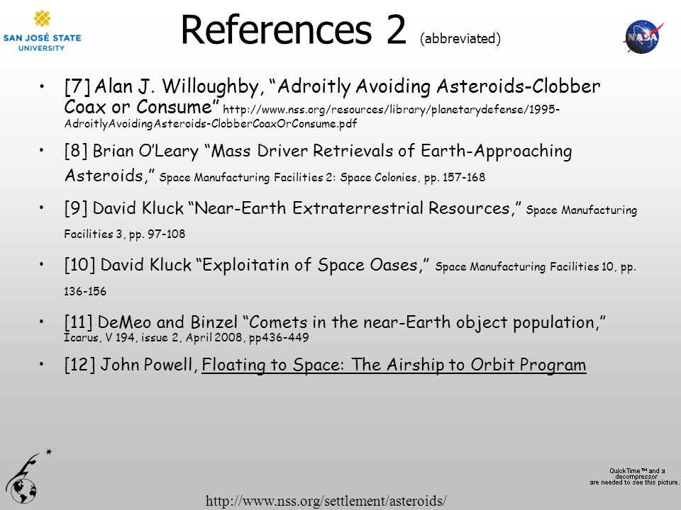 References 2 (abbreviated)