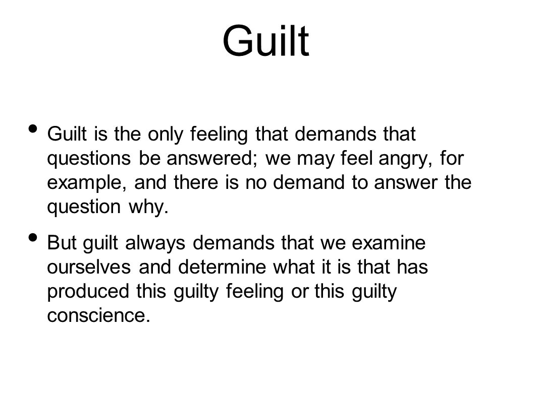 Bats 28 Guilt Ppt Download