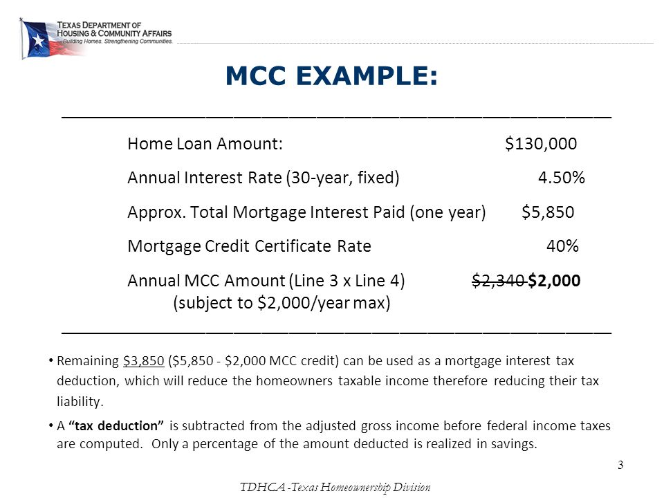 Empowering First Time Homebuyers Texas Mortgage Credit ...