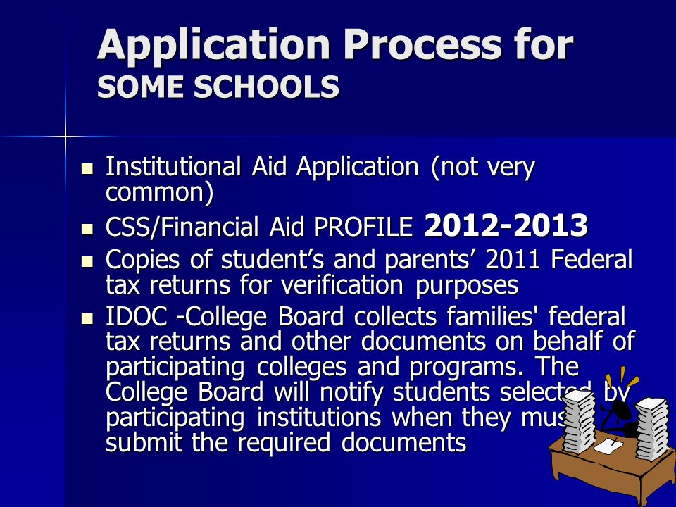 Financial Aid Workshop ppt download – Idoc Verification Worksheet