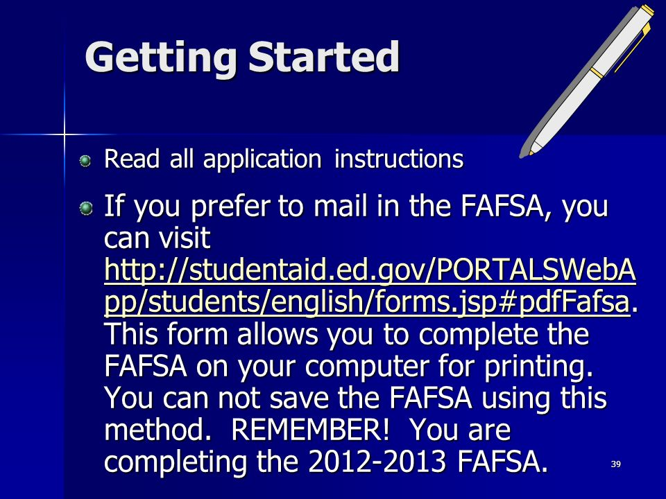 Financial Aid Workshop - ppt download