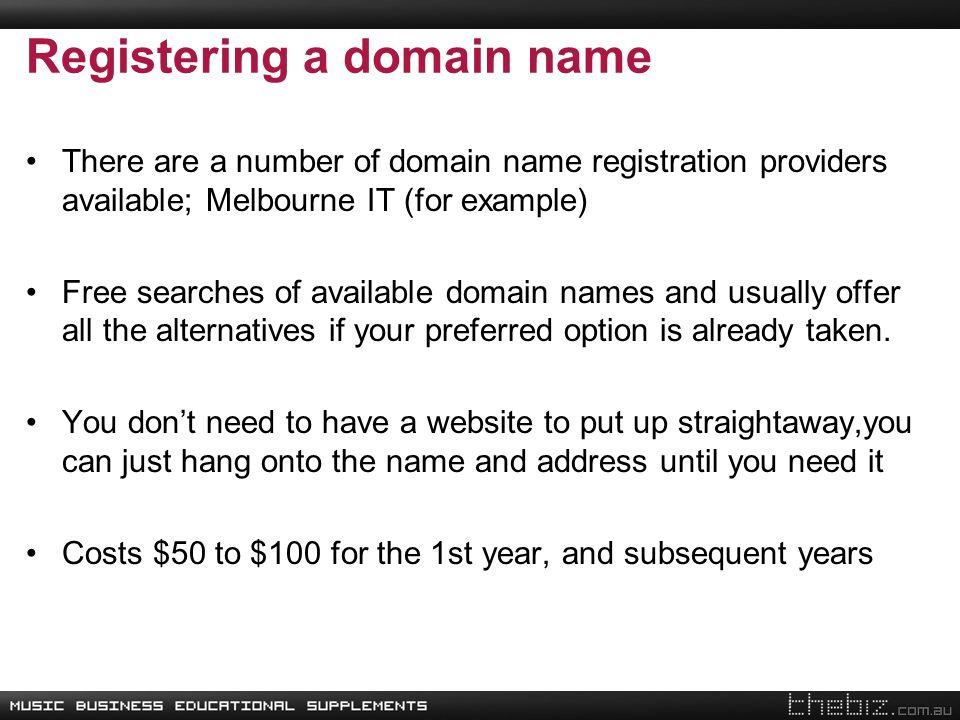 where to register free domain name