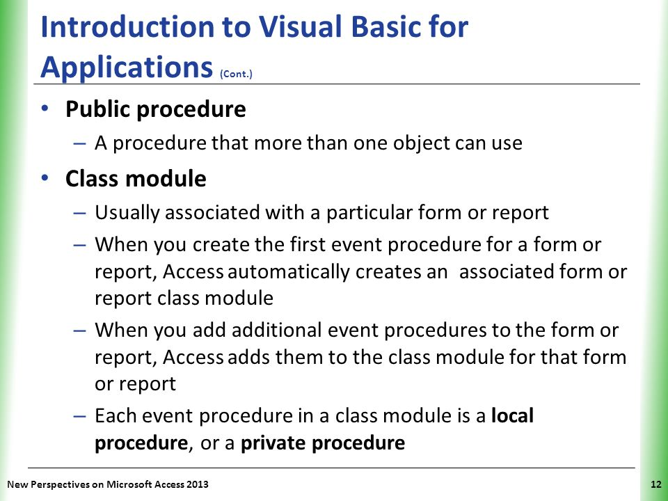 How to write a class module in vb6
