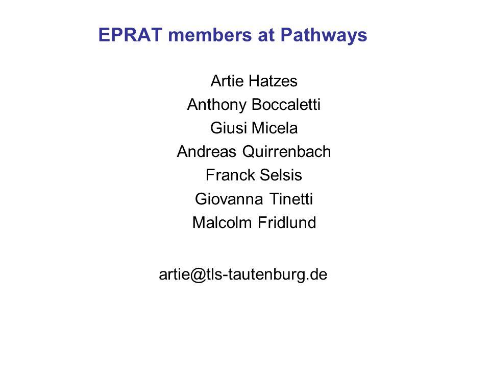EPRAT members at Pathways
