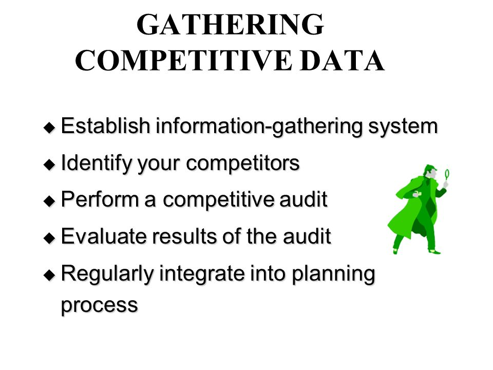 gathering data and assessing results Assessment is an end result of gathering information intended to advance  aim  of the interview is to gather information, and the adequacy of the data gathered.