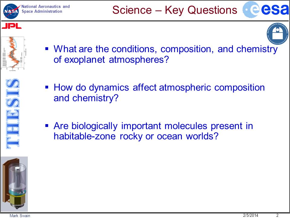 Science – Key Questions