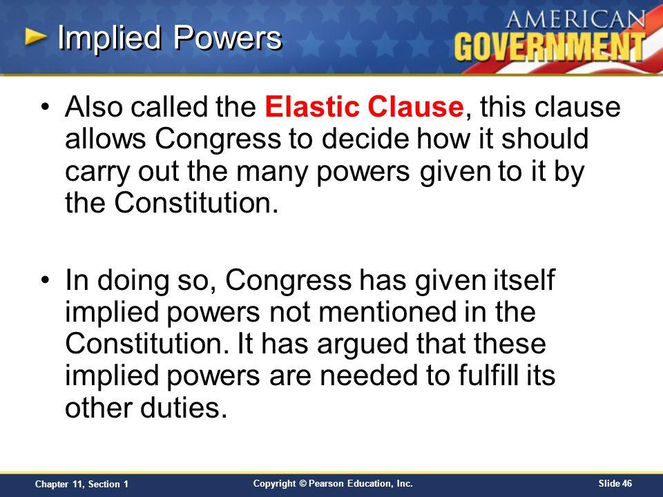 implied powers