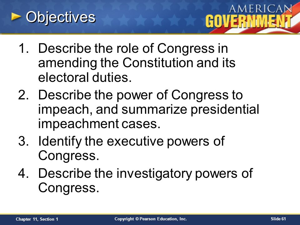 describe the roles of government in