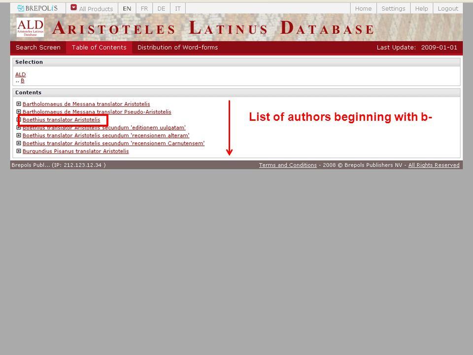 List of authors beginning with b-