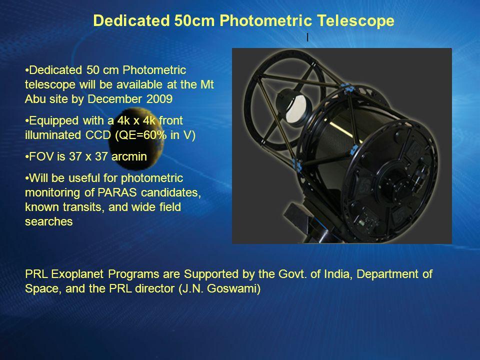 Dedicated 50cm Photometric Telescope
