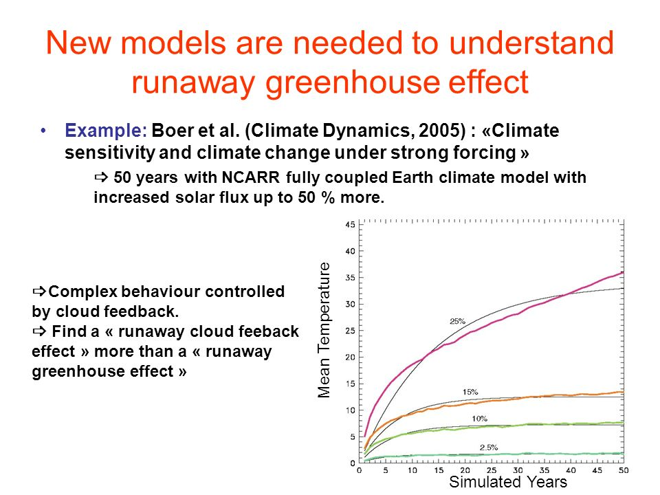 New models are needed to understand runaway greenhouse effect