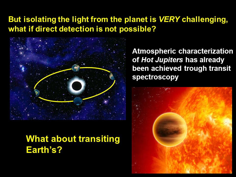 What about transiting Earth's