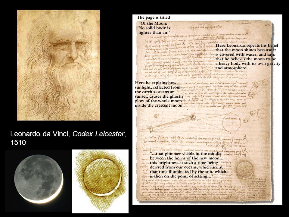 Leonardo da Vinci, Codex Leicester, 1510
