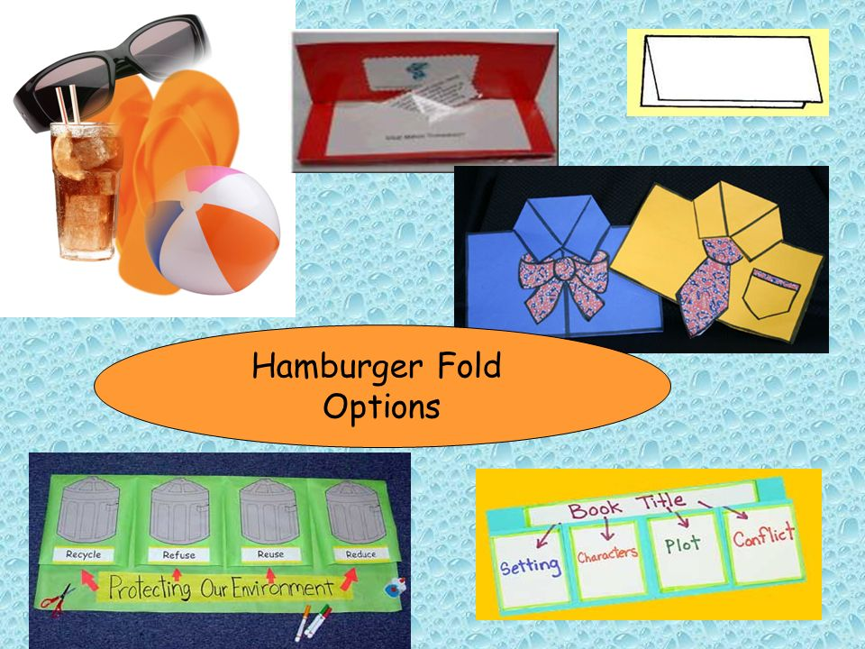 Hamburger Fold Options