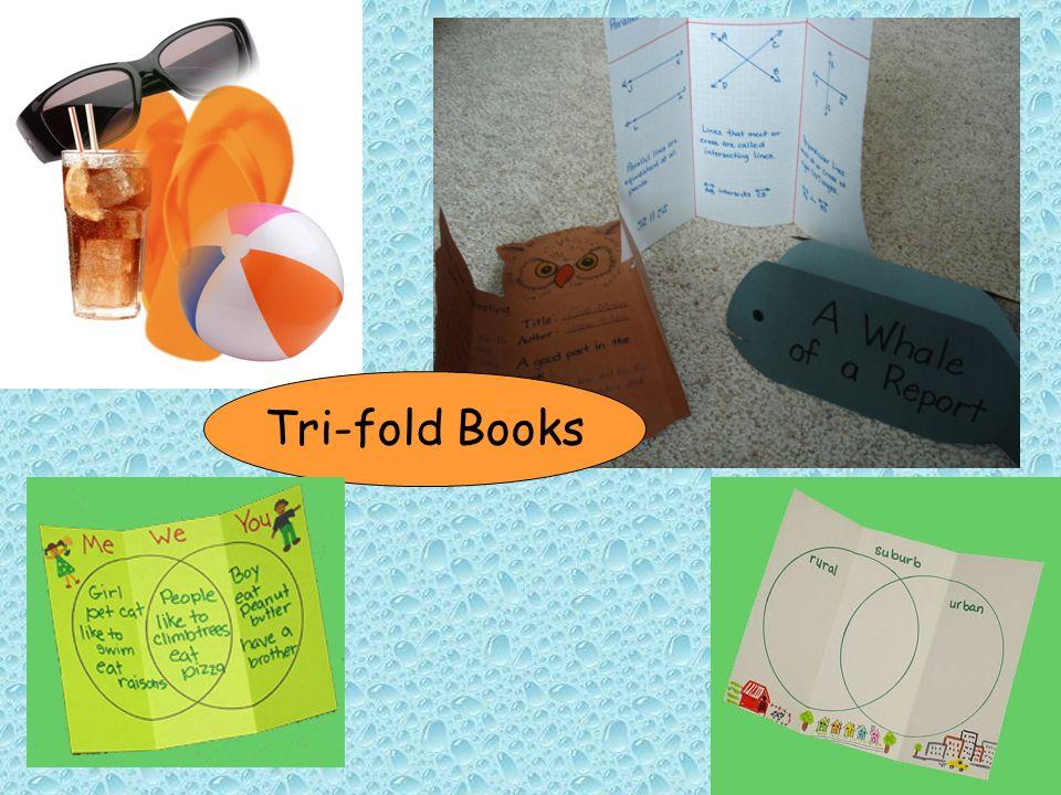 Tri-fold Books