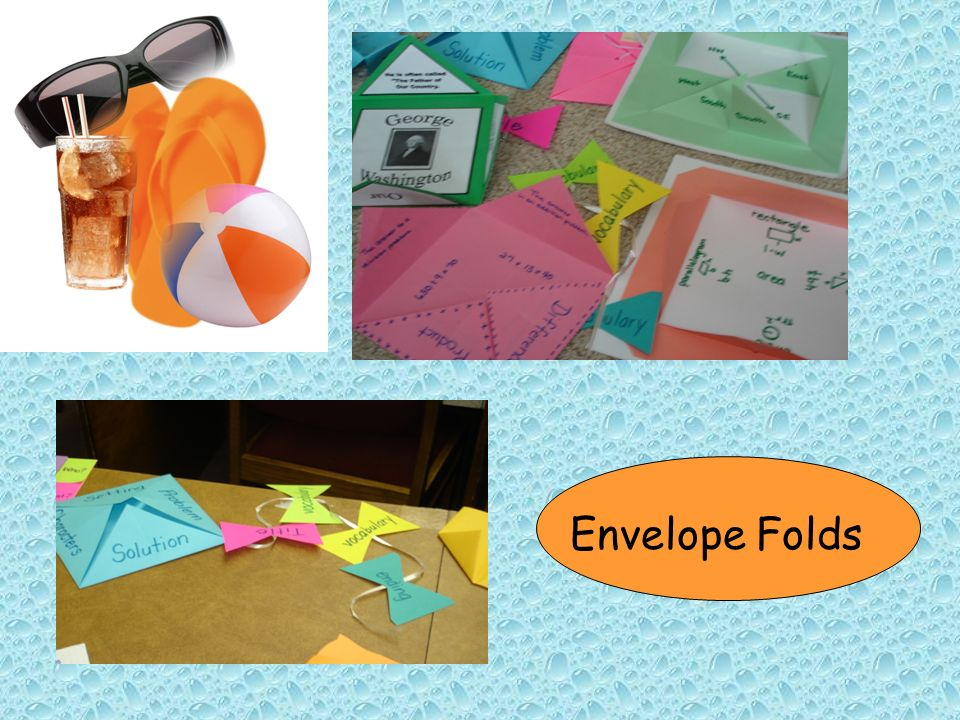Envelope Folds