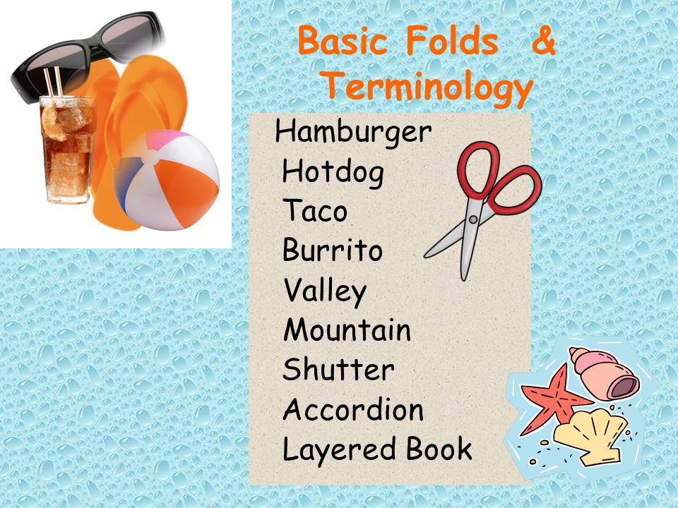 Basic Folds & Terminology