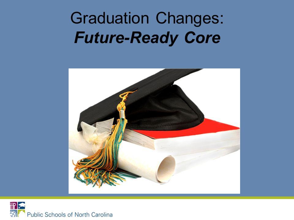 Graduation Changes: Future-Ready Core