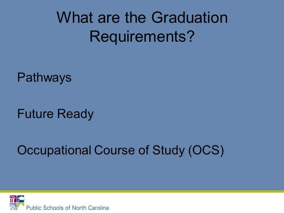 What are the Graduation Requirements
