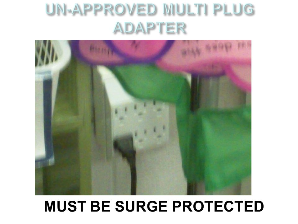 UN-APPROVED MULTI PLUG ADAPTER