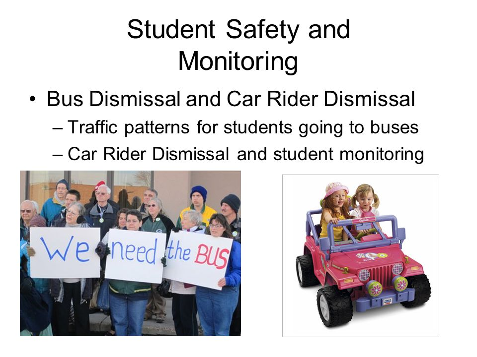 Student Safety and Monitoring