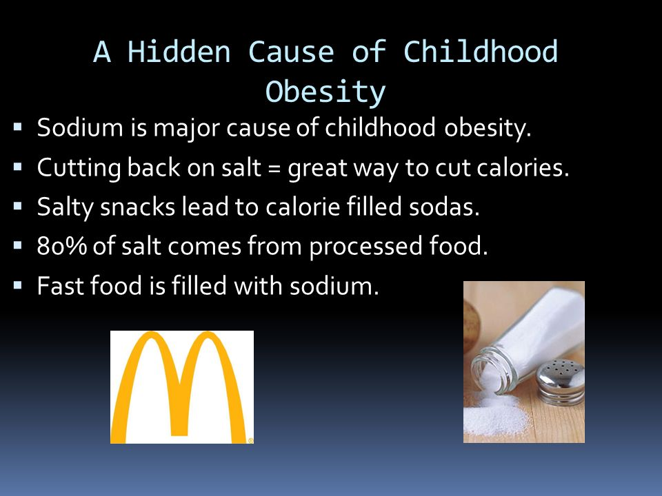 causes of childhood obesity James m jeffords vermont legislative research service the causes of obesity another important consideration in the development of childhood obesity is the.