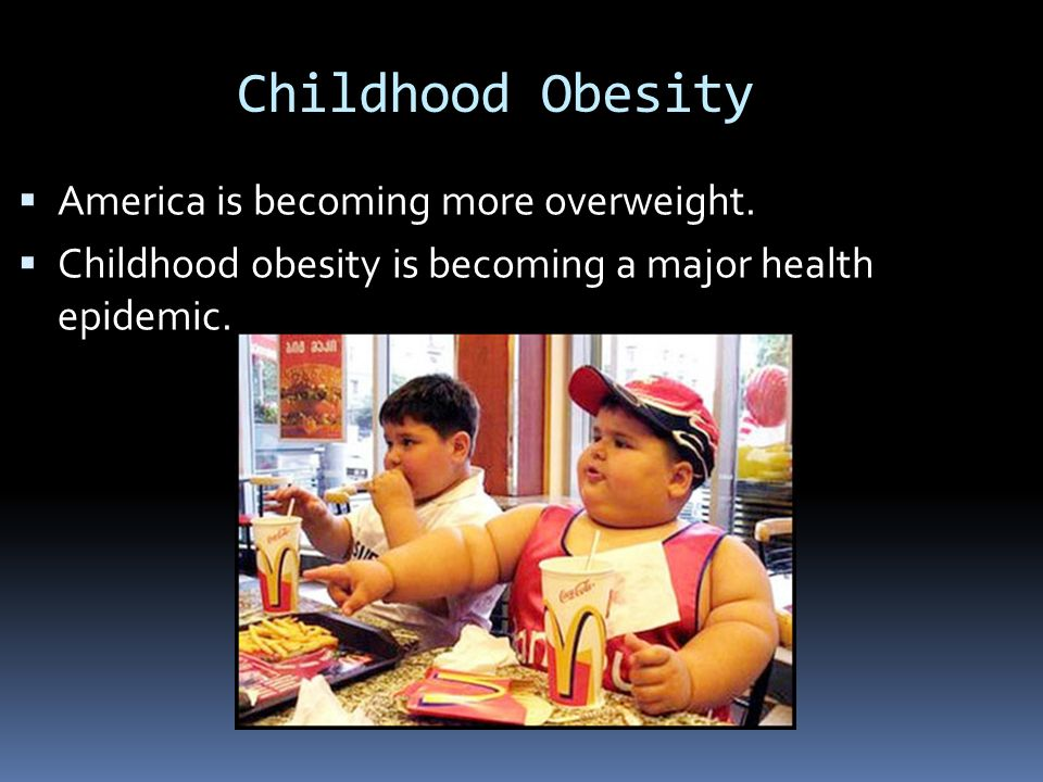 What is childhood obesity?