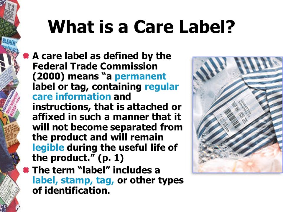 What is a Care Label