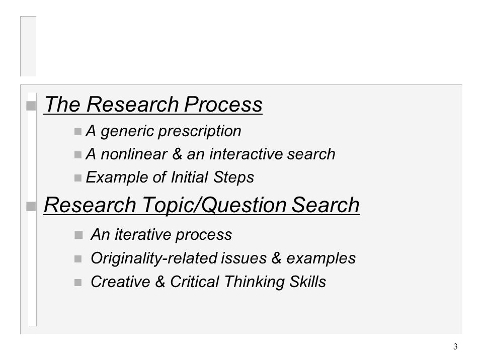 topic search and selection Use this research to identify key terms and concepts to narrow your topic and search terms click here for background resources and more information finding articles.