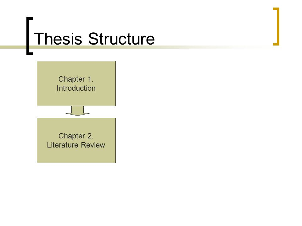 thesis literature review ppt Literature reviews 1 2 3 4 5 6 7 8 what is a literature review if you are writing a phd thesis, then the literature review is typically one chapter.