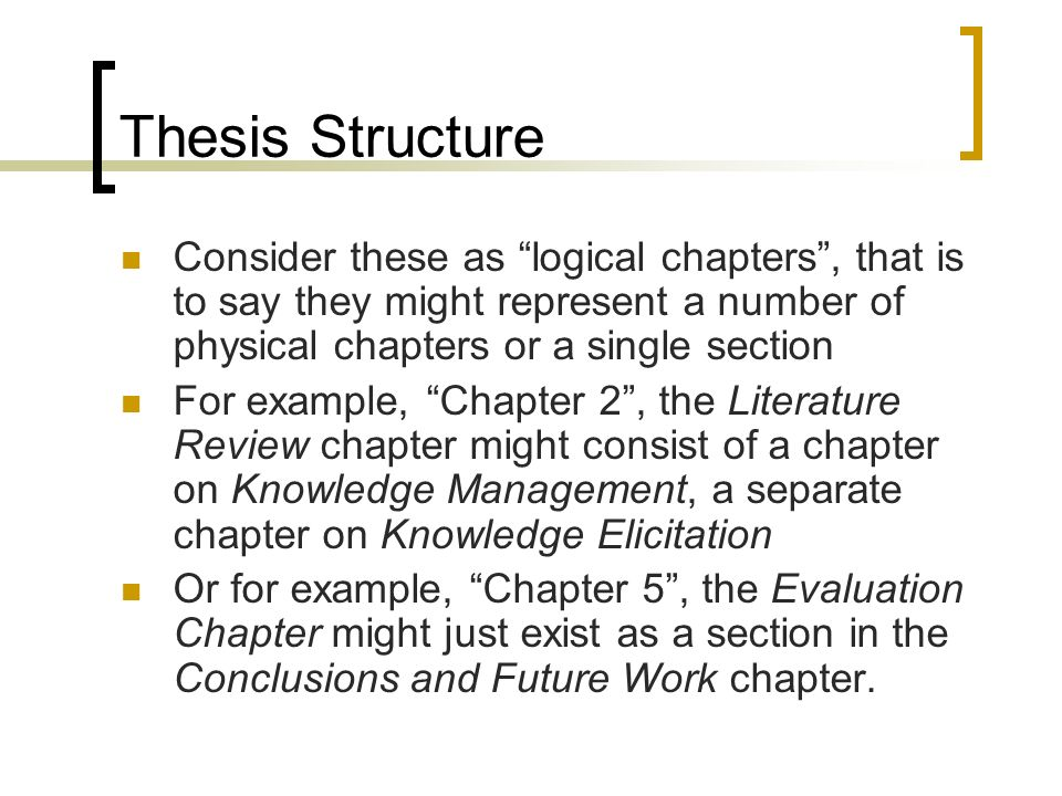 Dissertation literature review example yourself