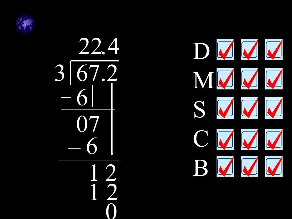 2 2 . 4 DMSCB 3 67.2 6 7 6 1 2 1 2