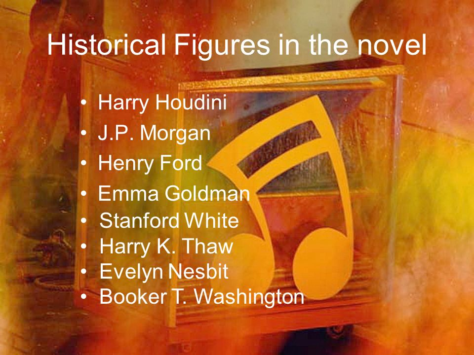 Historical Figures in the novel