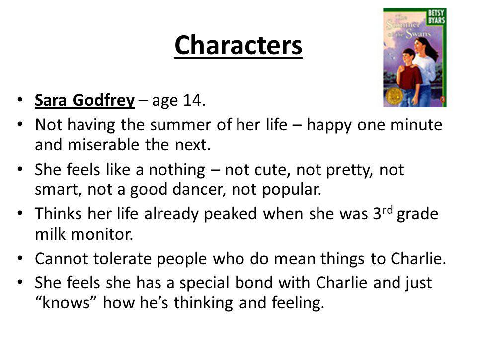 Characters Sara Godfrey – age 14.