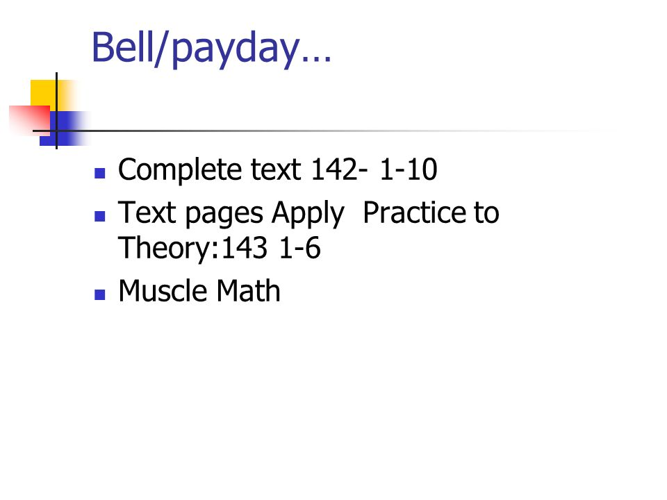 Bell/payday… Complete text 142- 1-10