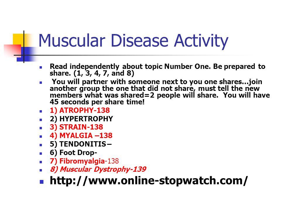 Muscular Disease Activity