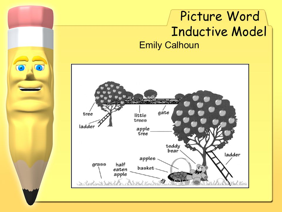 Picture Word Inductive Model Emily Calhoun