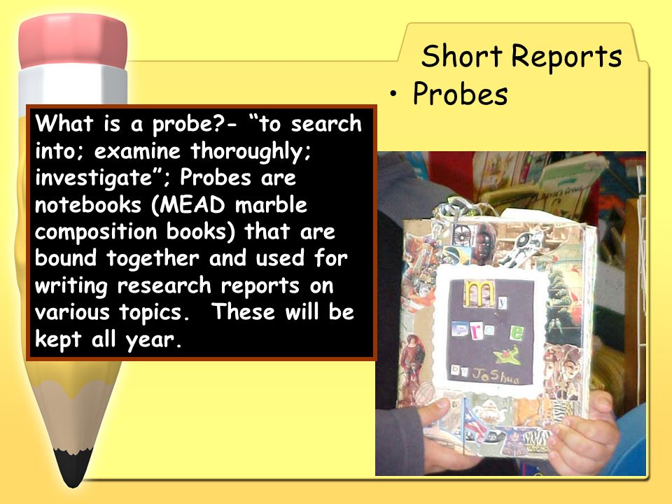 Short Reports Probes.