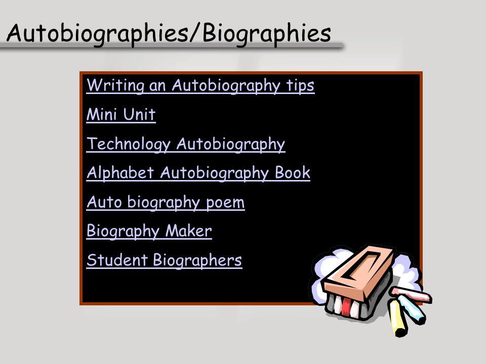 Autobiographies/Biographies