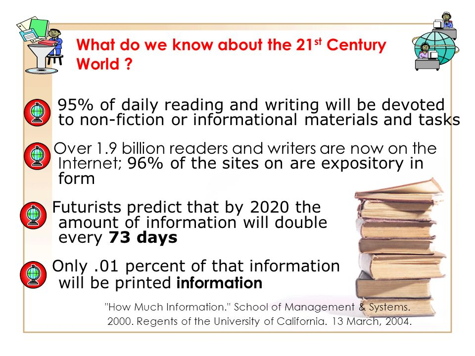 What do we know about the 21st Century World