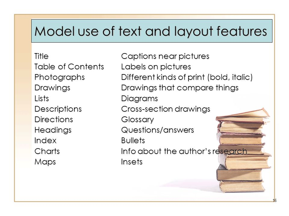 Model use of text and layout features