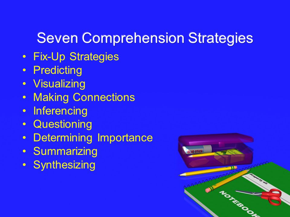 Seven Comprehension Strategies
