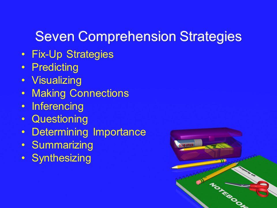 Seven Comprehension Strategies