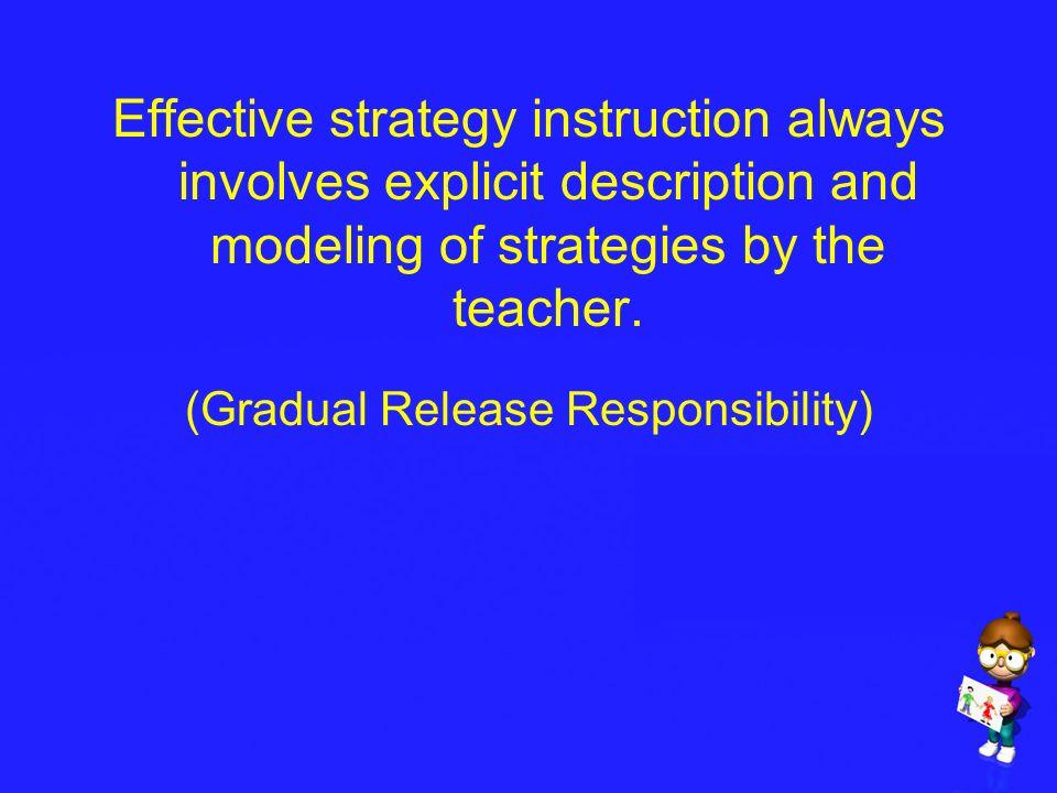 (Gradual Release Responsibility)